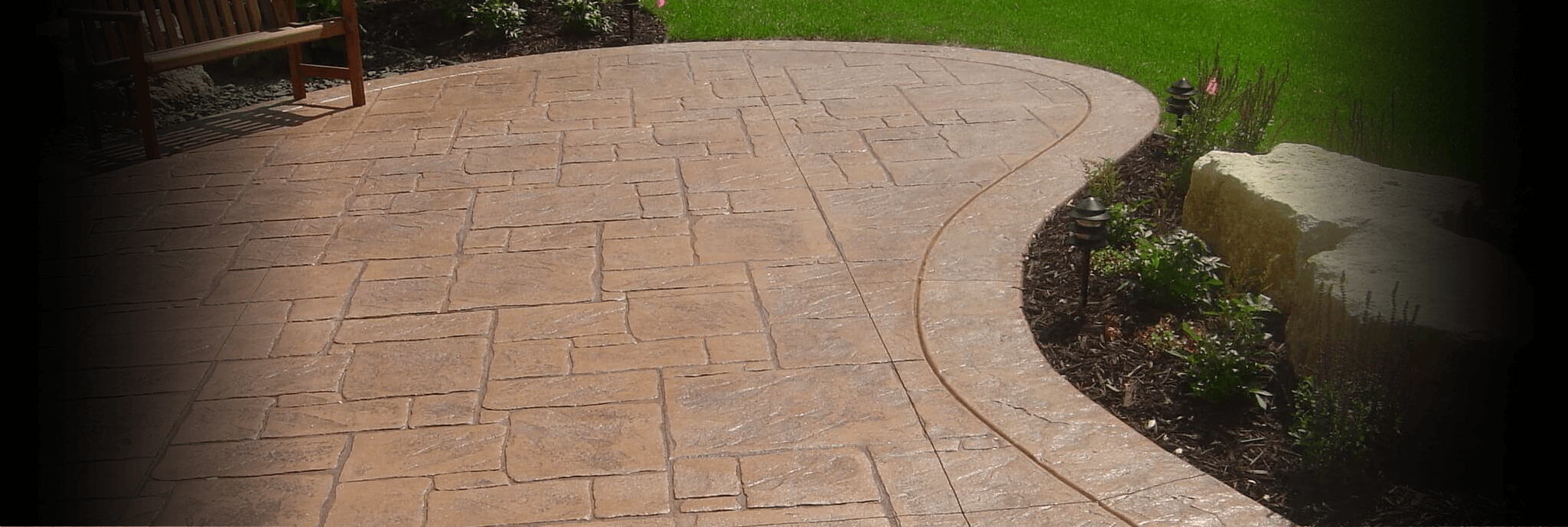 md concrete standard concrete stamped colored concrete